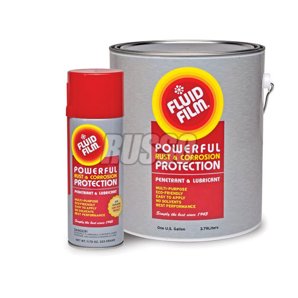 Fluid Film 1 Gallon Pail and 11.75 oz Aerosol Rust Corrosion Protection
