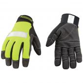 Safety Lime Utility Gloves - Extra Large