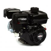 "Briggs & Stratton CR950 13R232-0001-F1 9.5GT 3/4"" x 2-27/64"" 3/4 Horizontal Shaft Recoil Start Engine"