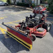 2017 Toro 74529 Grandstand Multi-Force With Plow & Mower Deck