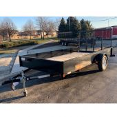 MIDSOTA NOVA 14' UTILITY TRAILER STEEL 3K SINGLE AXLE