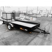 MIDSOTA 14' NOVA UTILITY TRAILER STEEL 3K SINGLE AXLE