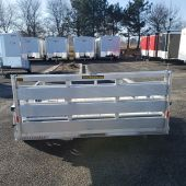 H&H 10' UTILITY TRAILER ALUMINUM RAIL 3K SINGLE AXLE
