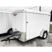 H&H 10' ENCLOSED TRAILER 3.5K SINGLE AXLE