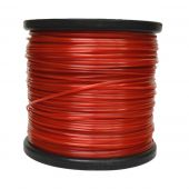 Russo 5lb .095 Square Red Commercial String Trimmer Line