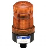 "ECCO 6267A 1/2"" Pipe Amber LED Beacon Medium profile 12-80VDC"
