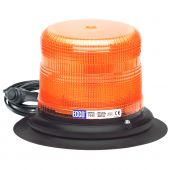 ECCO 7945A-VM Amber LED Beacon Pulse II Low Profile with Vacuum Mount 12-48VDC