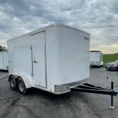 Pace American 12' Outback Trailer 7K Tandem Axle