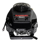 "Kawasaki FH680V-ES28S 23HP 1"" x3-5/32"" Keyed Vertical Shaft Electric Start without Muffler Engine"