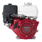 "Honda GX270UT2HA2 9HP Horizontal 1""x 3 5/32"" Shaft 6:1 Red Recoil Start Engine"
