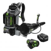 EGO POWER+ 600 CFM BACKPACK BLOWER WITH 5.0Ah BATTERY, 210W CHARGER