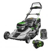 "EGO 21"" SELF-PROPELLED WALK-BEHIND LAWNMOWER WITH 7.5AH BATTERY, 550W CHARGER"