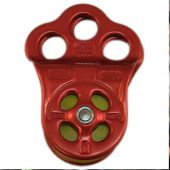 At Height Inc PUL100RD Red Hitch Climber Triple Attachment Pulley