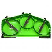 """Mean Green 60"""" Rear Discharge Deck Mulch Baffles for Rival-60"""