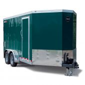 WELLS CARGO WAGON HD V-NOSE (7' WIDE) TRAILER