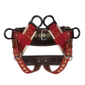 Weaver 08-01033-SM 4-Dee Extra Wide Back Saddle with Nylon Leg Straps (Small)
