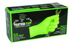 100 Count Box - Green Nitrile Gloves - Large