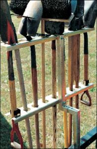 Trimmer Trap  TR-1 Portable Hand Tool Storage Rack