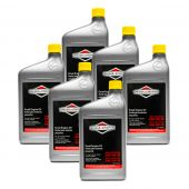 6pk Genuine OEM Briggs & Stratton 100074 5W-30 Synthetic Motor Oil
