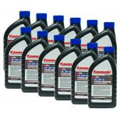 12PK Genuine OEM Kawasaki 10W50 Motor Engine Oil Quart 4-Cycle K-Tech 99969-6298