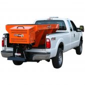 Buyers SaltDogg 8 Foot 2 Cubic Yard Gas Steel Hopper Spreader (Orange)