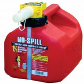 No Spill 1-1/4 Gallon Gas Can