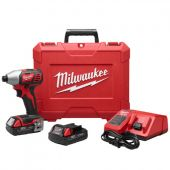 "Milwaukee M18™ 1/4"" HEX IMPACT DRIVER CP KIT"