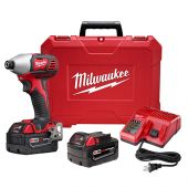 "Milwaukee M18™ 2-Speed 1/4"" Hex Impact Driver Kit"