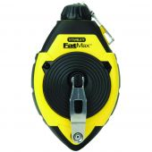 True Value 383185 Stanley Fatmax 100' Chalk Line with Rubber-Grip Case