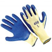 12 Pair - Palm Coated String Knit Gloves