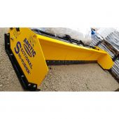 15.5' Arctic Raptor Light Duty Small Skid Steer Sectional Snow Pusher LD-15.5