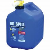 No Spill 5 Gallon Kerosene Can (Blue)