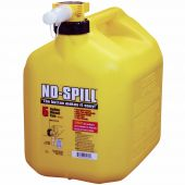No Spill 5 Gallon Diesel Can (Yellow)