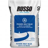 50lb Bag of Russo Power Blue Ice Melt