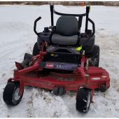 Z558 Z Master with 60in TURBO FORCE Side Discharge Mower
