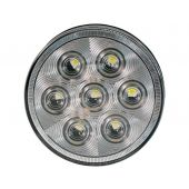 Buyers 5624356 4 Inch Round Backup Light With 7 LEDS