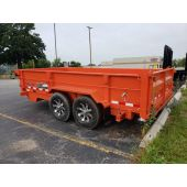 Midsota 14' Dump Bed Trailer