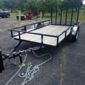 H&H H7612RS-030 12' Utility Trailer