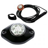 """ECCO 9014C 1.5"""" LED Hide-A-LED™ Concealed Warning Headlight"""