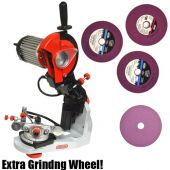 Oregon Hydraulic Assist Chainsaw Grinder w/ Extra Wheel 620-120-WHEELKIT