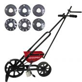 Chapin 8400 Walk Behind Garden Seeder with 6 Seed Plates