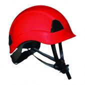 Ahlborn Equipment CLMH-R Arborist Climbing Helmet Red