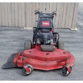 "Toro Walk Behind Mower Fixed Deck Pistol Grip Hydro Drive with 48"" Turbo Force Cutting Unit"