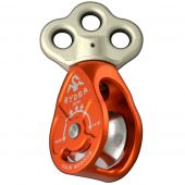 At Height Inc P4HYDRA Hydra Triple Attachment Pulley With Swivel Top