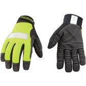 Safety Lime Utility Gloves - Large