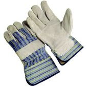 12 Pair - Premium Select Leather Palm Gloves