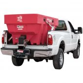 Buyers SaltDogg SHPE1500XRED Electric Poly Hopper Spreader with Extended Chute (Red)