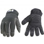 Black Waterproof Slip Fit Gloves - Medium