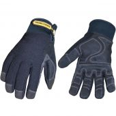 Black Waterproof Winter Plus Gloves - Medium