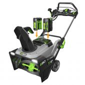 EGO POWER+ SNOW BLOWER WITH PEAK POWER™ WITH (2) 5.0Ah BATTERY, RAPID CHARGER